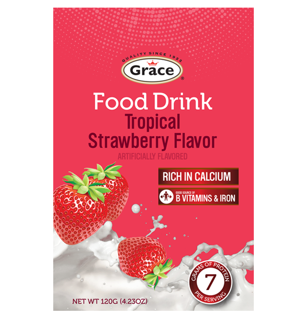 Grace Food Drink - Tropical Strawberry