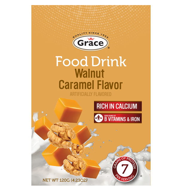 Grace Food Drink - Walnut Caramel