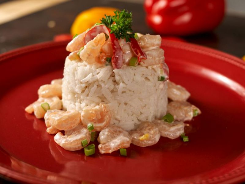 Shrimp in Coconut Sauce