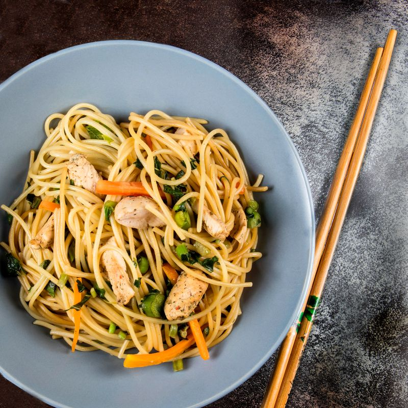 Recipe Chicken Vegetable Stir Fry With Spaghetti