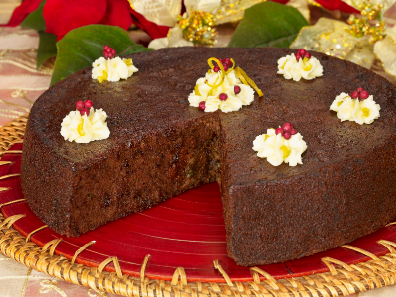 Inch Rich Fruit Cake Recipe