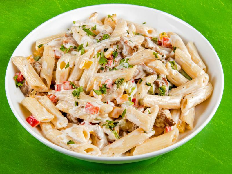 Creamy Jerk Chicken Pasta