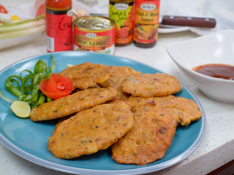 Grace Mackerel Fritters