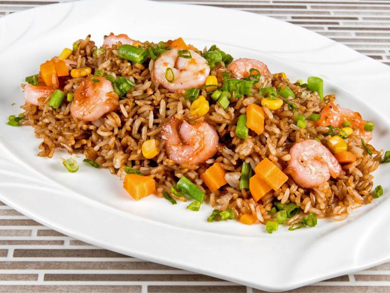 Ity's Shrimp Fried Rice