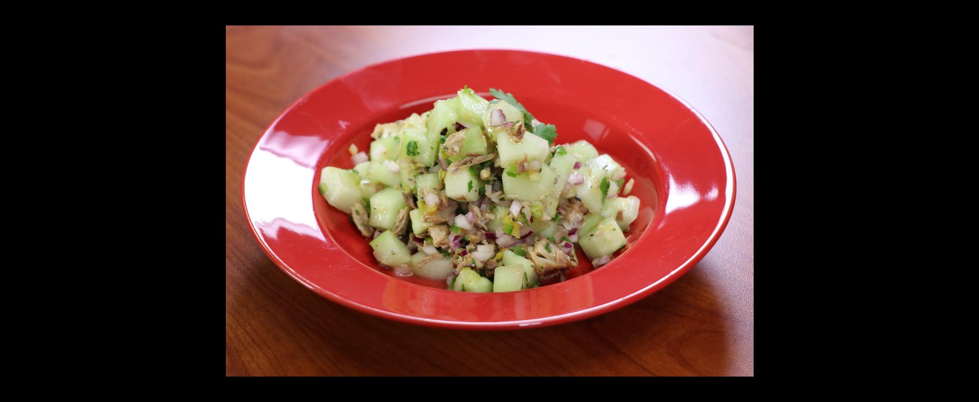 Grace Spicy Cucumber and Premium Mackerel Salad