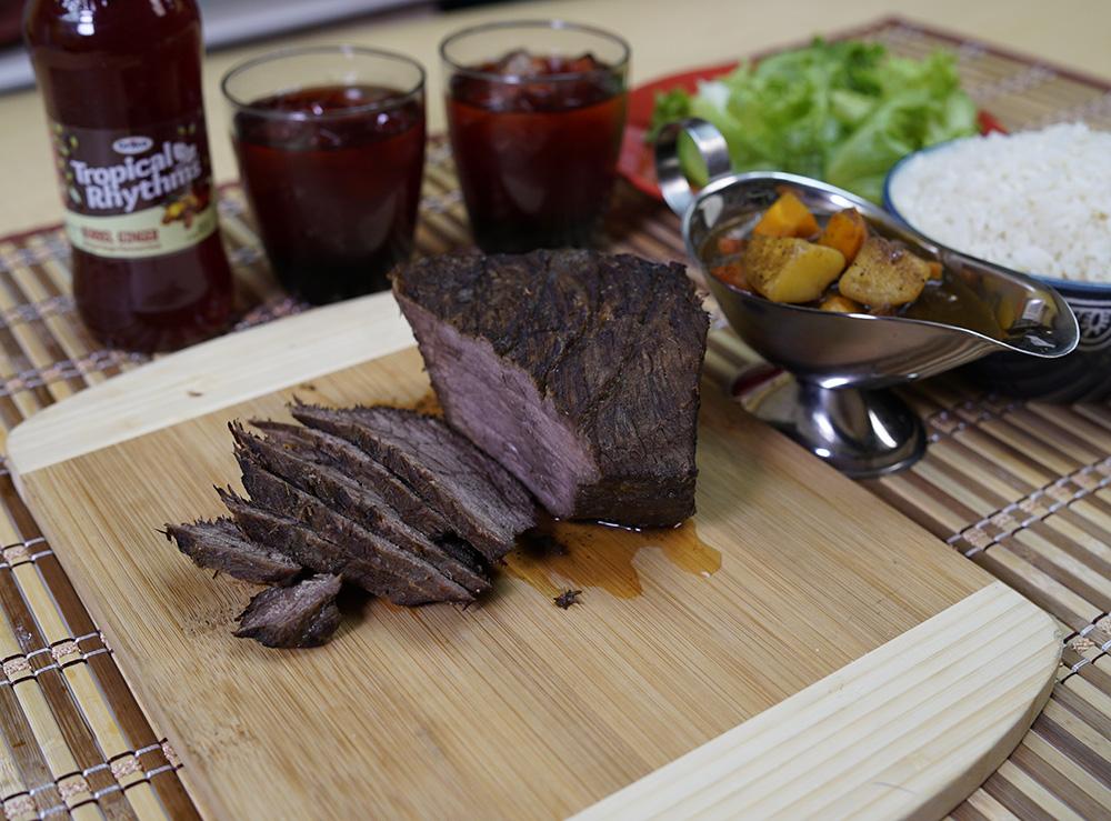Pot Roast Beef with Pan Gravy