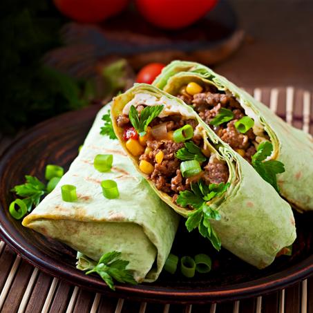 Grace Corned Beef Burrito