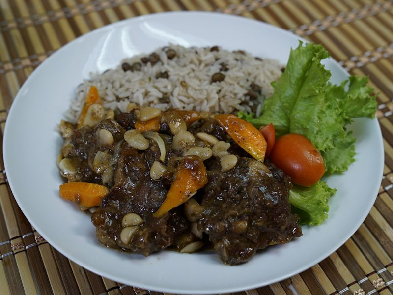 Oxtail Stew with Grace Butter Beans