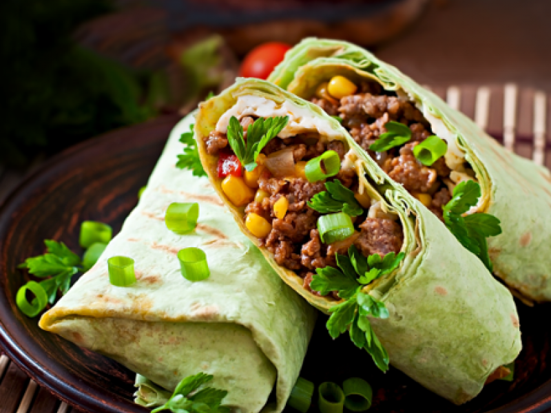 Grace Corned Beef Burrito​