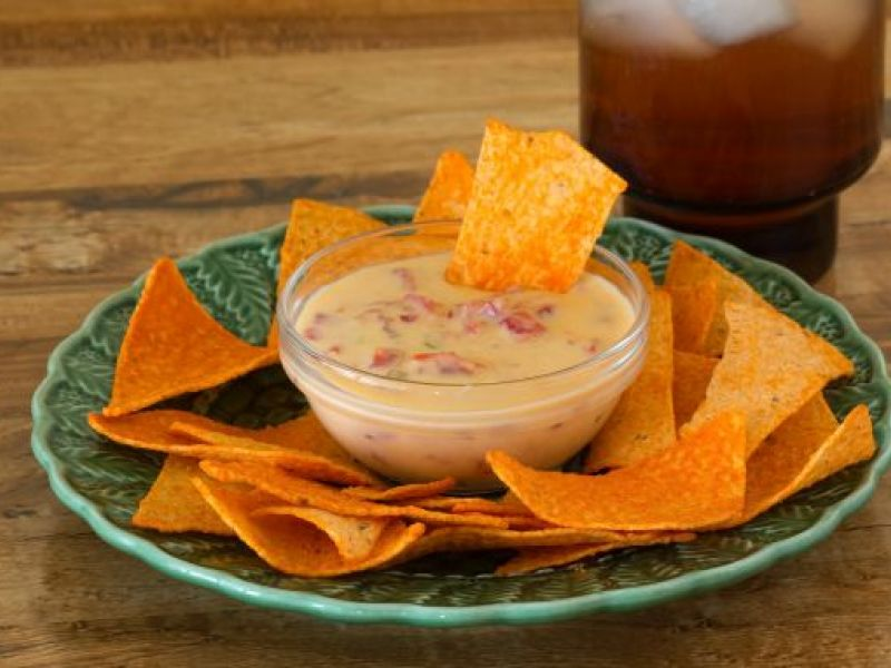 Red Pepper Cheese Dip