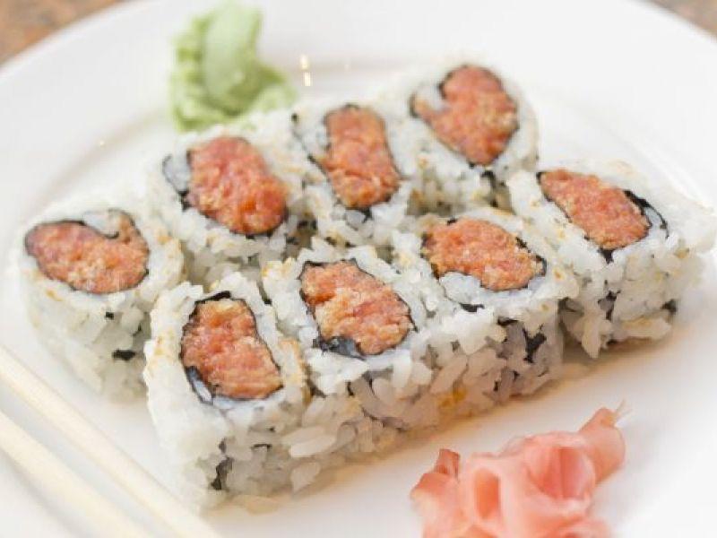 Spicy Tuna Sushi Rolls