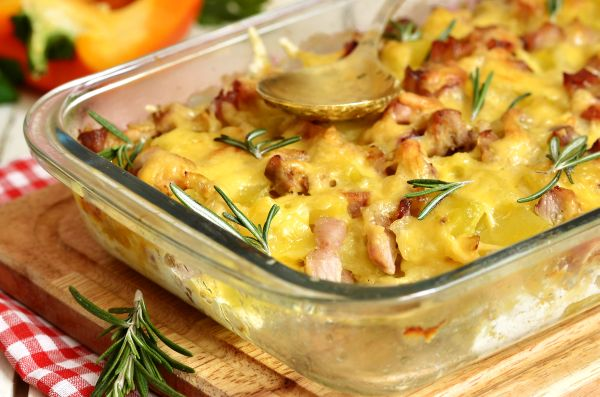 Potato Bacon Bake