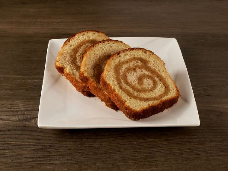 Cinnamon Raisin Swirl Loaf