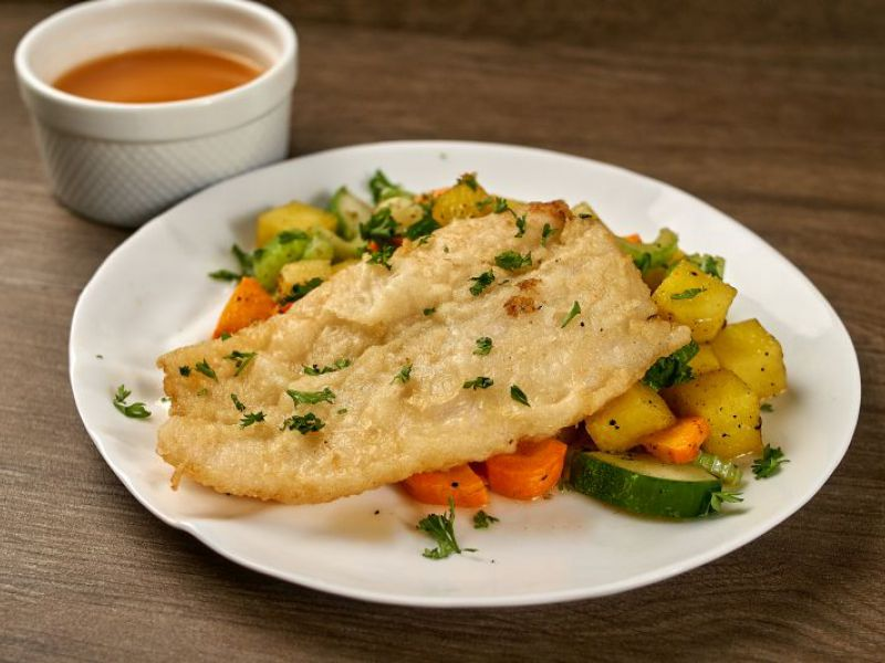 Fish with Orange Sauce