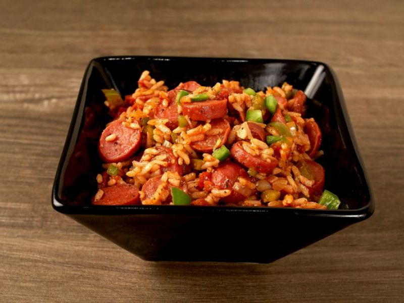 Grace Chicken Franks Jambalaya