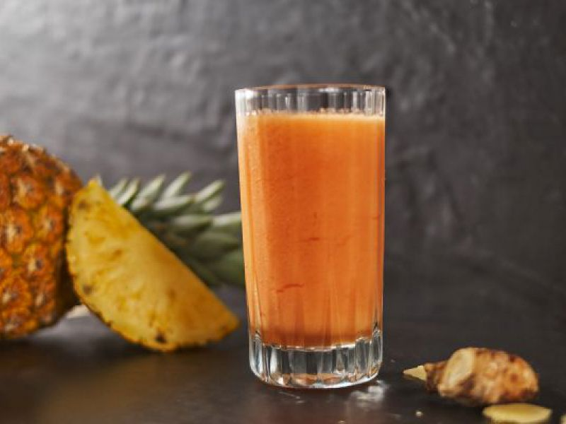 Pineapple Paw-Paw Drink