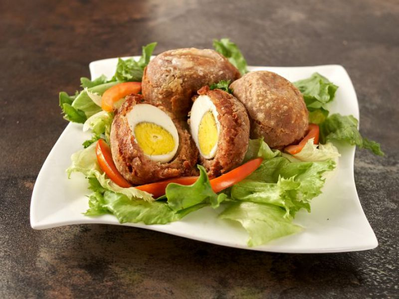 Corned Beef Scotch Eggs