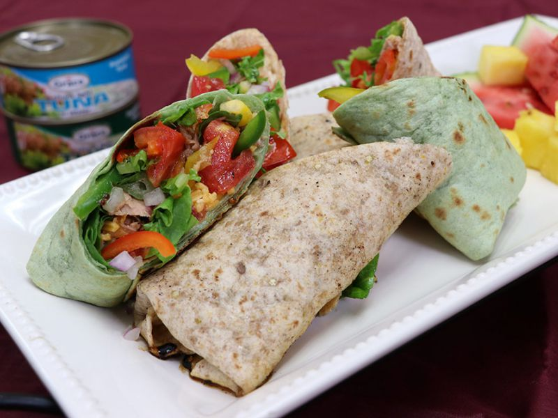 Grace Tuna and Corn Wraps