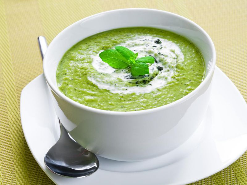 Cream of Callaloo Soup