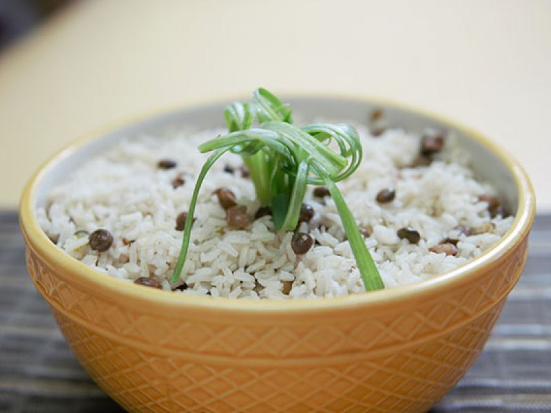 Gungo Peas and Rice
