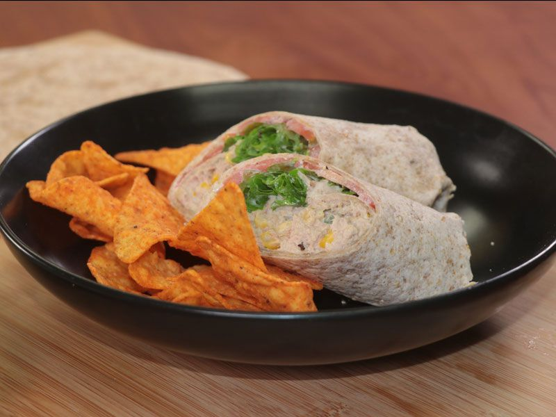 Grace Tuna and Corn Wraps with Grace Curry