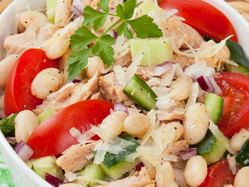 Tuna and Butter Bean Salad