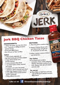 Jerk BBQ Chicken Tacos