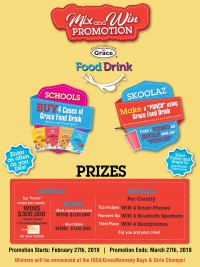 Grace Food Drink Mix and Win Competition
