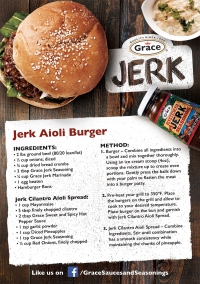 Jerk Aioli Burger