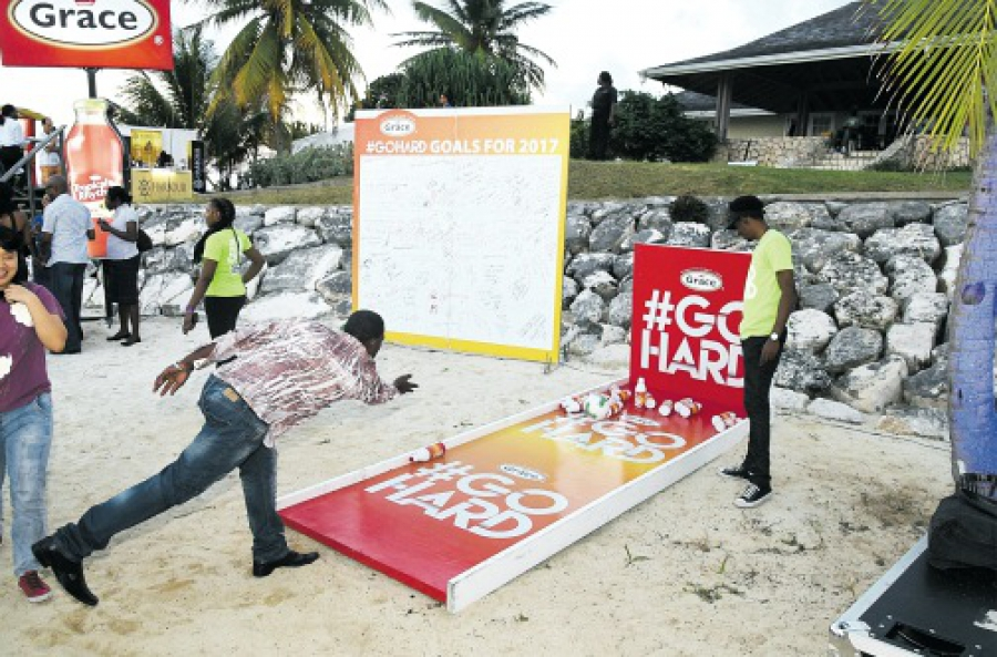 Grace #GoHard campaign excites the west