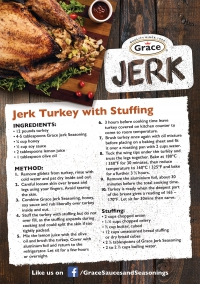 Jerk Turkey with Stuffing